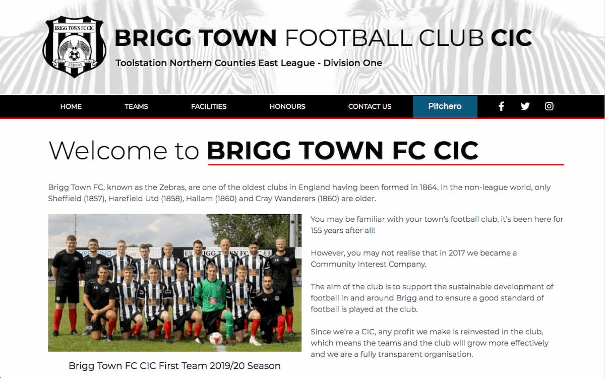 Brigg Town Football Club CIC